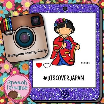 Japan Country Study {Cultural Studies Unit} Instagram