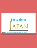 (ASIA GEOGRAPHY) Facts about Japan - Reading Guide