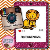 Kenya Country Study {No prep} Instagram