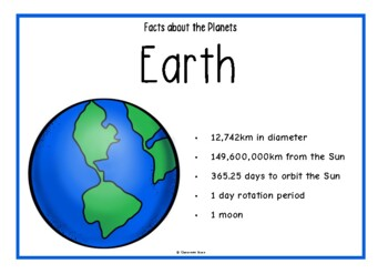 Facts About Planets