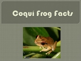 Facts about the Coquí Frog