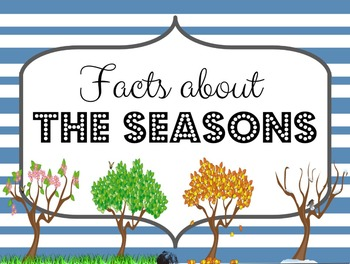 Seasons Powerpoint (Revolution and Rotation Powerpoint)