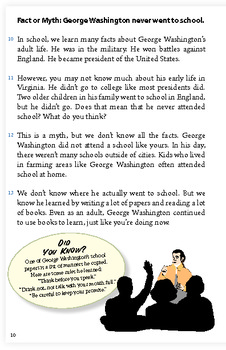 Facts and Myths about George Washington