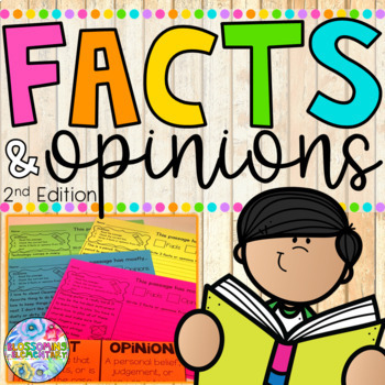 Facts and Opinions 2nd Edition