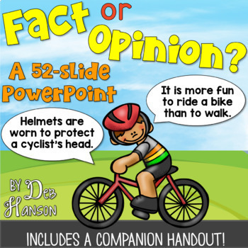 Fact and Opinion: A Bundle of Activities!