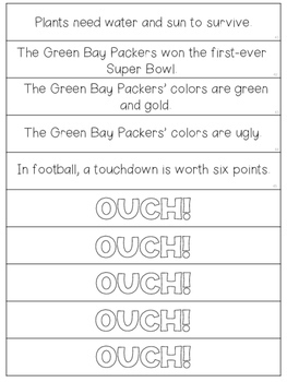 Facts and Opinions Game