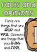 Facts and Opinions Poster