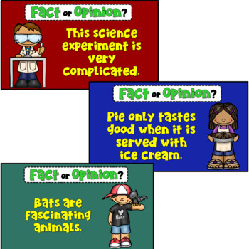 Facts and Opinions PowerPoint