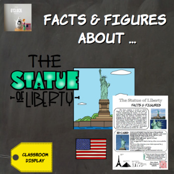 Facts and figures about the Statue of Liberty