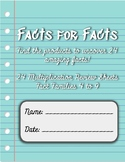 Facts for Facts: Multiplication Code Breaker Activities (S