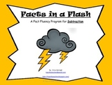 Facts in a Flash!  A Fact Fluency Program for Mastering Subtraction Math Facts