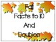 Facts to 10 Fall Math Center