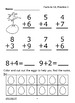 Addition Facts to 12 (Facts to 12 Worksheets + Full Color Addition Game)