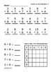Facts to 15 Addition Worksheets, Ten-Frame, Counters, and Full Color Game