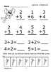 Addition Facts to 7 (Facts to 7 Worksheets + Full Color Addition Game)