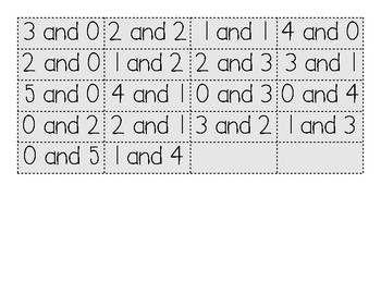 Facts to Five Sort