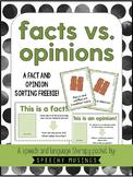 Facts vs. Opinions Sort FREEBIE