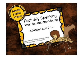 Factually Speaking Aesop The Lion and the Mouse