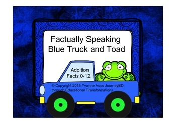 Factually Speaking Blue Truck and Toad