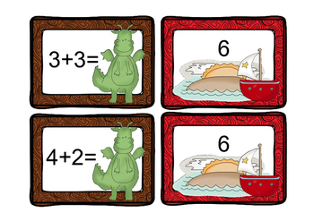 Factually Speaking Dragons Addition Facts 0-12