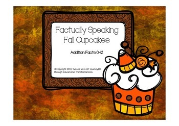 Factually Speaking Fall Cupcakes