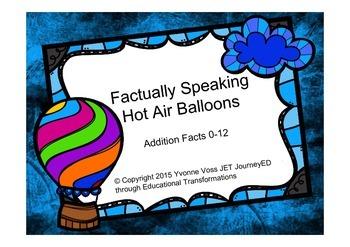 Factually Speaking Hot Air Balloon