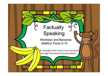Factually Speaking Monkeys and Bananas