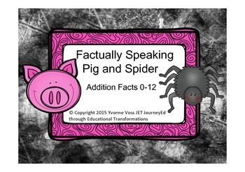 Factually Speaking Pig and Spider