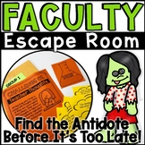 Faculty Escape Room Zombie Teachers