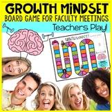 Staff Morale Game Growth Mindset