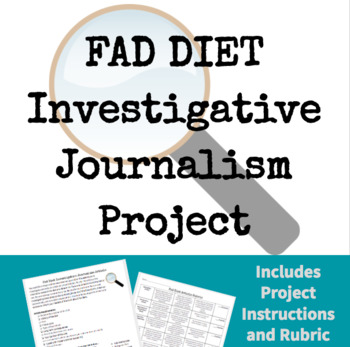 Fad Diet Investigative Journalism Project