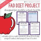 Fad Diet Project & Rubric
