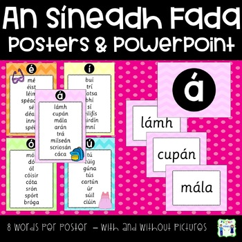 Fada Posters - 8 words per poster