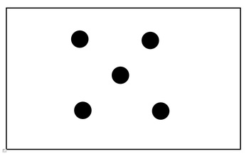 Fading Dot Cards for Subitizing