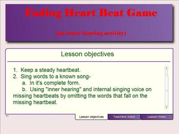 Fading Heartbeat Game (An Inner Hearing & Ear Training Game)