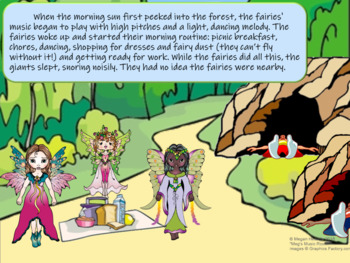 Faeries and Giants - PowerPoint - Classical Music Movement Activity - Learn Form