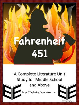 Fahrenheit 451 - A Complete Literature Unit Study for Middle School and Above