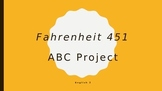 Fahrenheit 451 ABC Project
