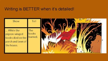 """Fahrenheit 451: Adding """"Show Not Tell"""" Details To Your Writing"""