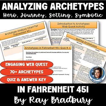 Fahrenheit 451: Analyzing Archetypes BUNDLE
