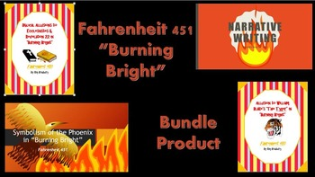 "Fahrenheit 451 ""Burning Bright"" Bundle Product!"