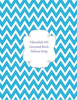 Fahrenheit 451 Censorship Essay