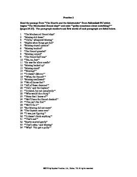 Fahrenheit 451 Chapter 1b English Skills worksheet by Appl