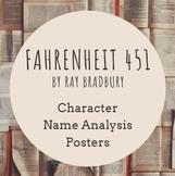 Fahrenheit 451 Character Analysis Illustration