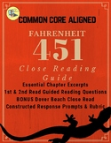 Fahrenheit 451 Close Reading Guide