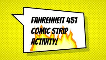 Fahrenheit 451 Comic Strip Activity