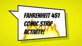 Fahrenheit 451 Comic Strip Activity