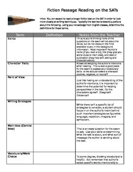 Fahrenheit 451: Common Core or NEW SAT Passage Reading (op