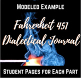 Fahrenheit 451 Dialectical Journal Assignment Page