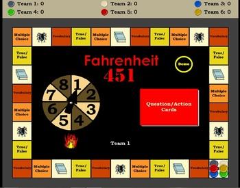 Fahrenheit 451 Game